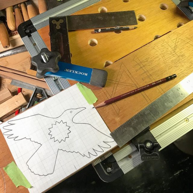 Tonight I am laying out a carving  transferring thehellip