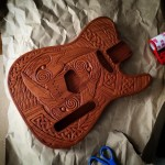 Packing up the Triple Raven Telecaster style guitar body forhellip