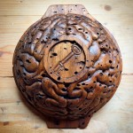 Outside view of my recently completed hand carved wooden bowlhellip