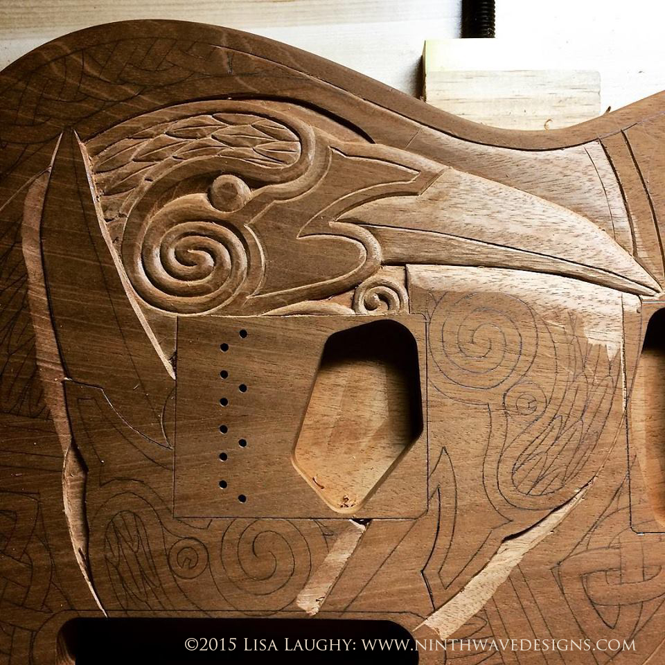 raven_guitar_carving1