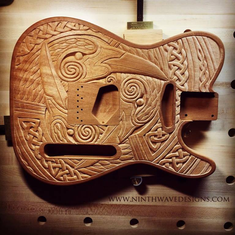 raven_guitar_carving_completed
