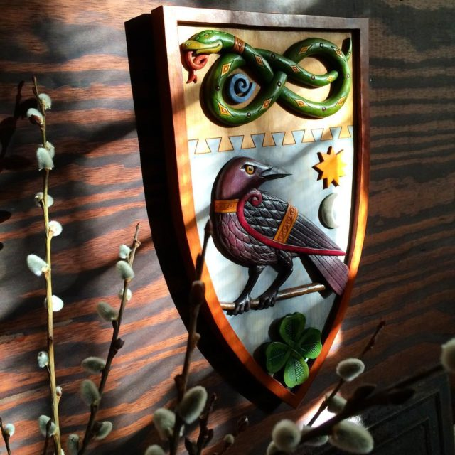 A throwbackthursday image of the Marriage Shield  home againhellip