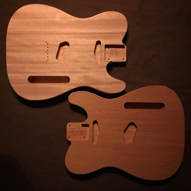 Double the Fun Look what arrived today from usacustomguitars !hellip
